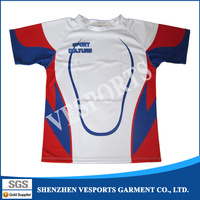 china custom design sublimated polyester blank rugby jersey top team rugby jersey