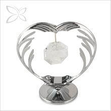 Splendid Brilliant Chrome Plated Crystals Wedding Souvenirs