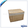 white wicker storage baskets with liners wholesale