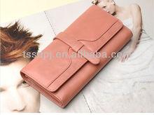 TOP sale woman leather wallet ,lady purse