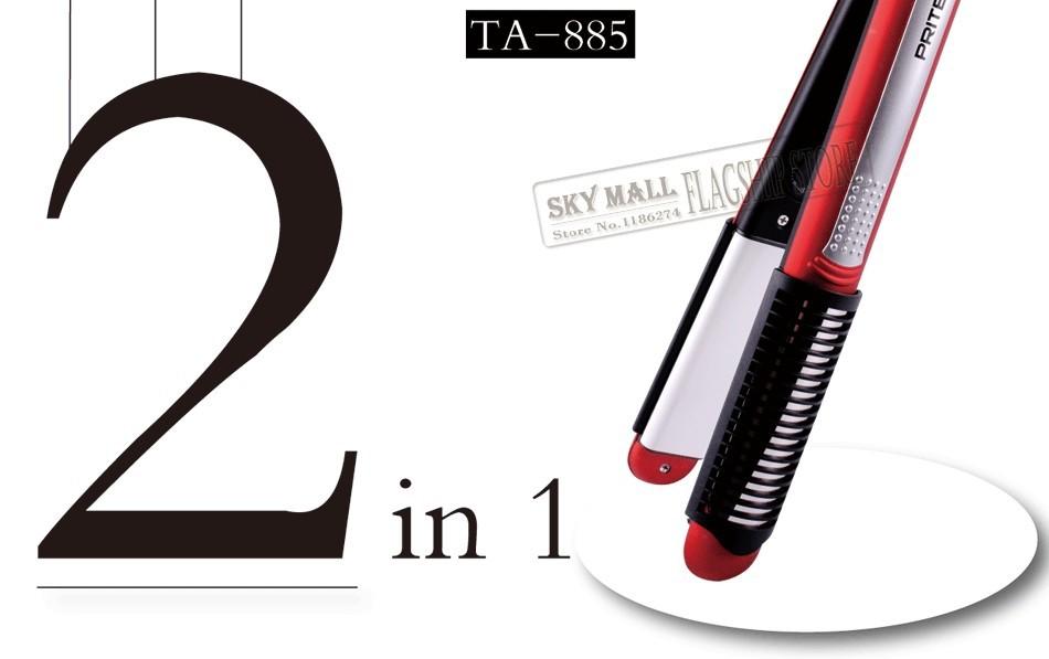 Утюжок для выпрямления волос PRITECH 2 1 Culer , TA-885