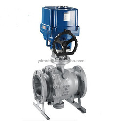 For water/vapour/oil electronic valve actuator