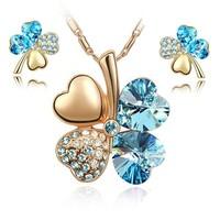 20423003 hight quality zircon wedding jewellry bridal jewelry set