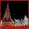 Outdoor Metal Frame Giant LED PVC Christmas Tree for Decoration Shop Products