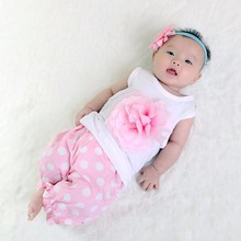 R&H single jersey cotton eco-friendly Baby girls t-shirts