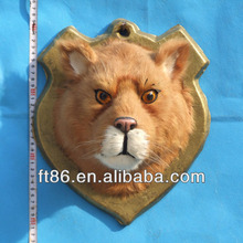 2014 Lion head decorative with hanging wall hooks for home decoration