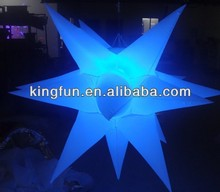 Colorful LED Inflatable Stars with Controller/Party/Night Club Decorative Products
