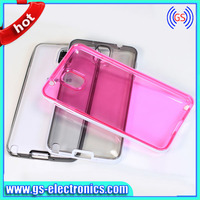 transparent TPU Bumper Frame Cases For Samsung Galaxy Note 3 III N9000 Bumpers Dual Color