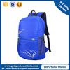 shinning foldable backpack and light school sports bag for students