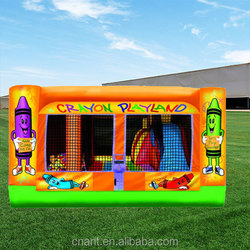 inflatable cubby house combo