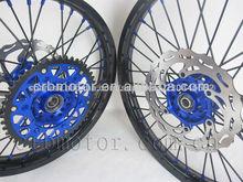 Off- carretera de motocross ruedas/supermotor ruedas ruedas completo de los centros y los bordes para yamaha