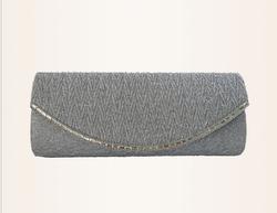 2015 new fashion ladies beauty fabric satin evening clutch bag wholesale women silk bag