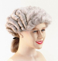 Barrister Grey Fancy Dress barrister Wig