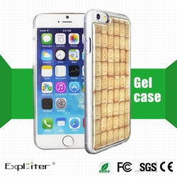 New 3d products blank cell phone cover for iphone cases and cover