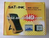 By paypal Satlink SatFinder meter WS-6932 3.5'' LCD HD Spectrum Analyzer Satellite Finder Meter DVB-S/S2 WS 6932 in stock