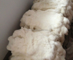 Factory direct supply Natural and Soft 100% Real Rabbit Fur Skin
