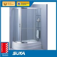 Simple shower room design and adjustable toilet sex shower room