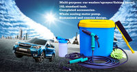 (0757) portable16L tank competitive powerful mobile car wash equipment for sale