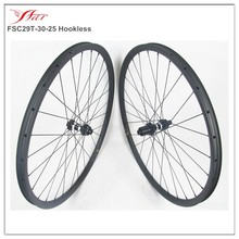 full carbon 29er wheels mountain wheelset, carbon fiber mtb bike wheels 29er 12 x 142 thru axle with DT 350S disc hub CL
