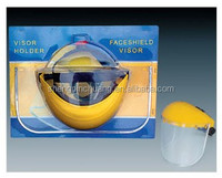 SPC-C307 Outdoor sports face shield material yellow glass