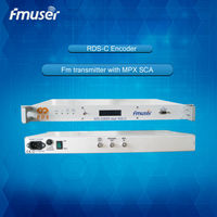 RDS-C Encoder for Fm transmitter with MPX SCA