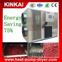 100KG-2ton/Batch 1/4Electricity Consumption Cassava Dehydrator/Ginger Dehydrator/Chili Dehydrator