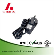 12v 1a 12w switching power AC/DC adapter with CE UL RoHS