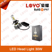 Super bright led head light motorcycle Hi/Lo light beam Led headlight projector