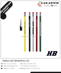 Personalized Recycled Paper Wooden Pencil (Lu-Q95641)