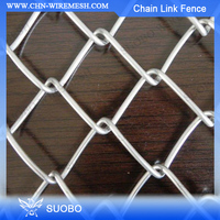 SUOBO NO.1 Chain Link Fence With Factory Price with free sample