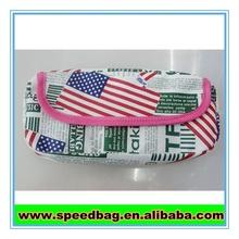 Popular New york style America flag print pen bag