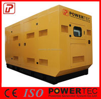 Low fuel consumption Weichai engine generator with based fuel tank