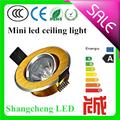 qualidade de hight feixe de ângulo ajustável mini led luz de teto com taiwan chip epistar