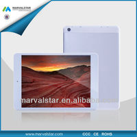 OEM Economical Supplier 7.85inch android tablet 3g dongle cheap price MTK8312Dual Core 1GB+8GB 1024*768pixel TN Panel GPS BT