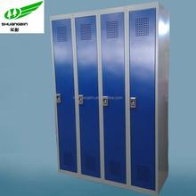 4 door high quality storage steel locker /Fingerprint lock locker cabinet