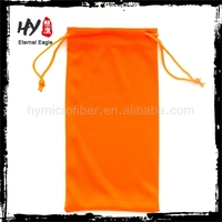 new product sunglasses pouch with drawstring,silicone eyeglass case for kids,microfiber pouch