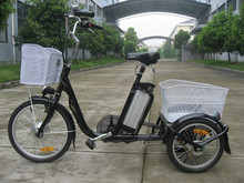 16 / 20' Three wheels Electric bike / cheap adults electric tricycle EN 15194