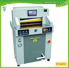 2015 heavy Hydraulic program-controlled electric paper cutter machine in china
