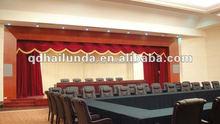 stage velveteen flame retardant decoration curtain