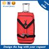 Sport Trolley Bag Carry Clothing Duffel Travel Bag with trolley