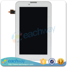 """Brand original new LCD screen dispaly +Touch Digitizer with frame for 7"""" Lenovo IdeaTab A3000 white or black"""