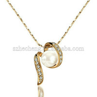 New design 18K Gold Plated necklace sex toy