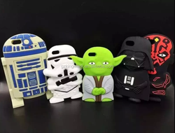 Hot Star Wars Silicone Cases for iPhone 6s ,For iPhone 6s Cases