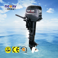 30hp 2 stroke outboard motor/remote control/ electric start / long shaft