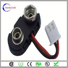 universal t type nickel wire battery snap clips