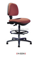 rise and fall Synthetic Leather staff chair from China for sale
