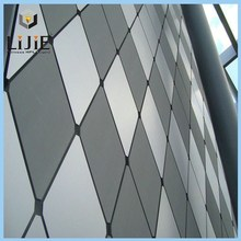 LIJIE hpl decorative building material exterial wall facade panel and side panel external fireproof cladding outdoor board