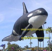 huge inflatable animal helium balloon attractive floating whale balloons