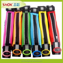 015 hot sale led medium extendable belt for running