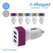 Universal colorful usb Mini Car chargr for iphone/ipad/samsung car usb adapter